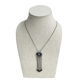 silver halsband